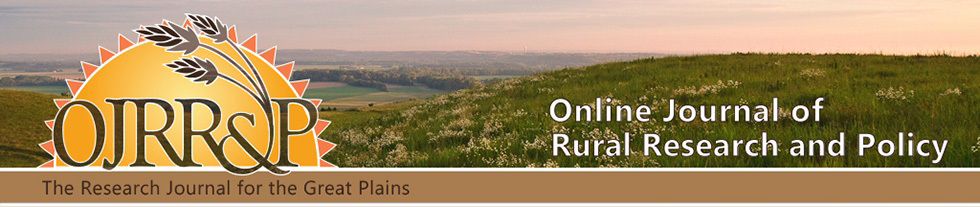 Online Journal of Rural Research & Policy | | Kansas State
