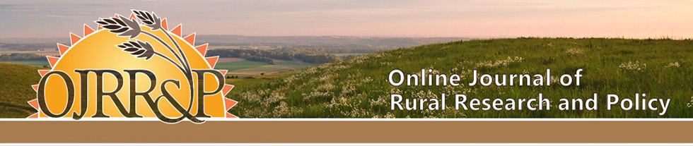Online Journal of Rural Research & Policy