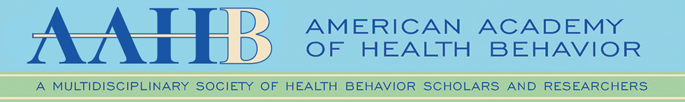 American Academy of Health Behavior Annual Meeting